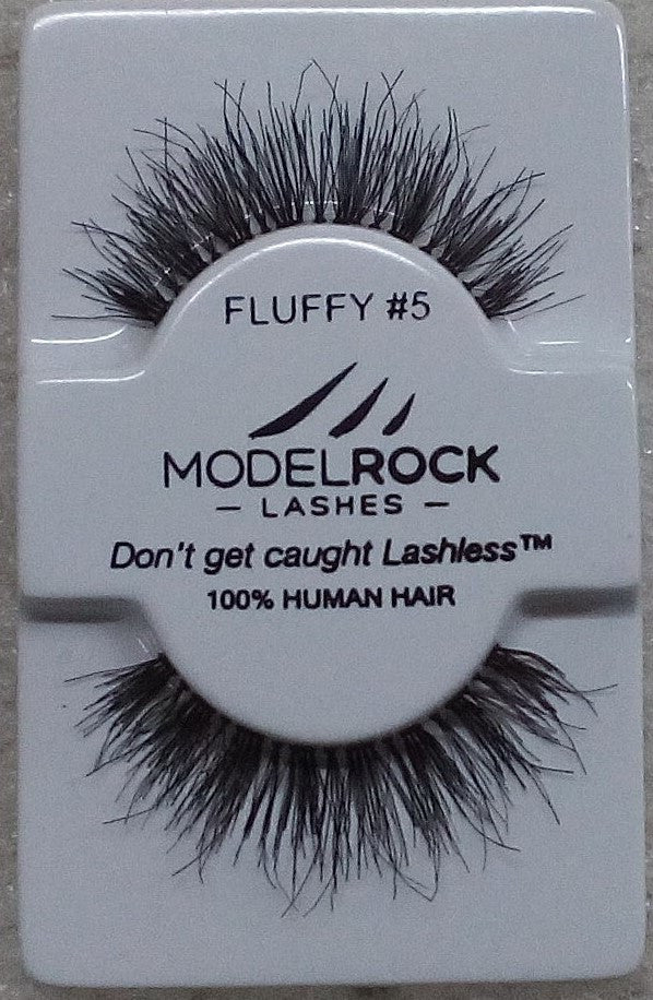 Model Rock Kit Ready Lashes - Fluffy Collection #5