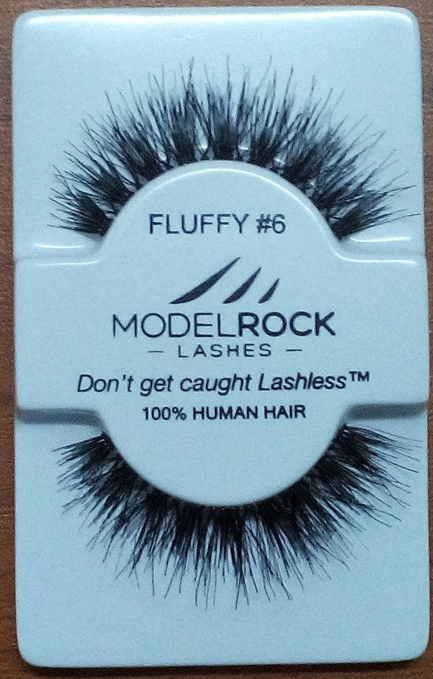 Model Rock Kit Ready Lashes - Fluffy Collection #6