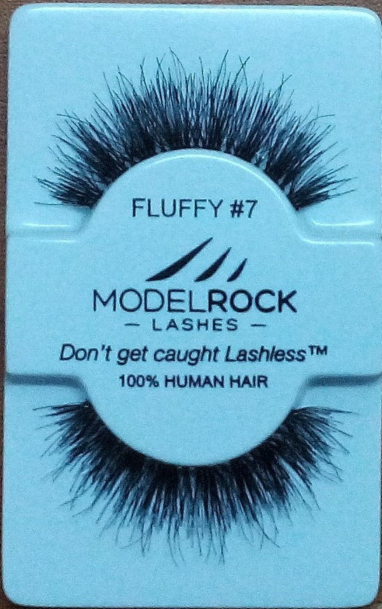 Model Rock Kit Ready Lashes - Fluffy Collection #7