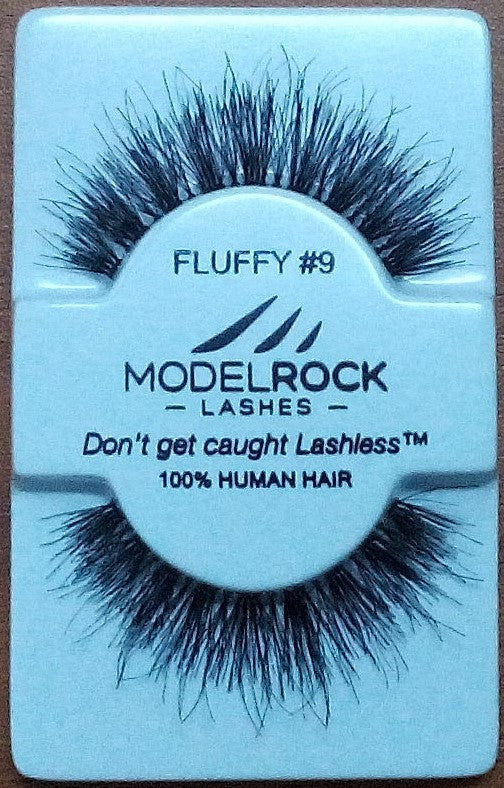 Model Rock Kit Ready Lashes - Fluffy Collection #9