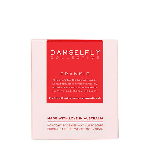 You're a fuckin babe - Damselfly Frankie Large Candle