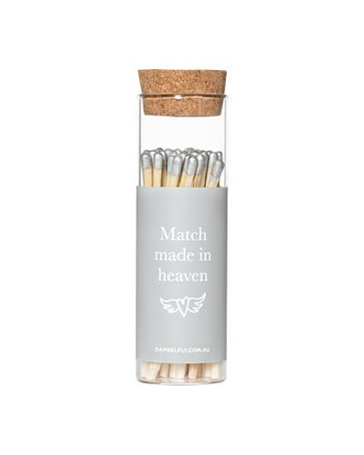 Match Made In Heaven- Glass Vial Matches