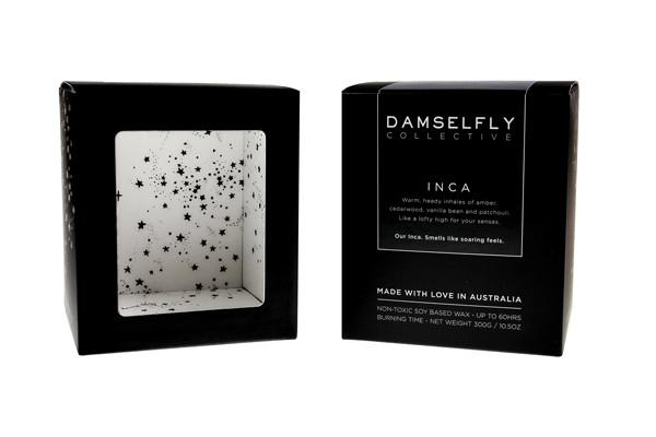 Bitches be Trippin- Damselfly Large Candle