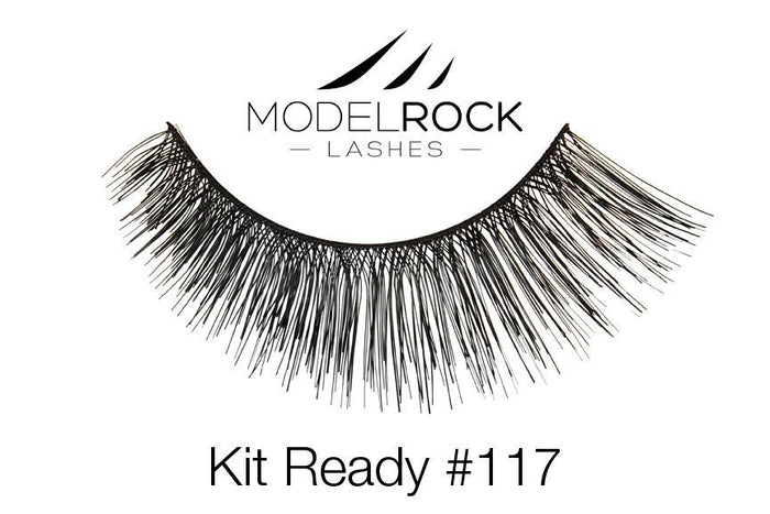 Model Rock Kit Ready Lashes #117