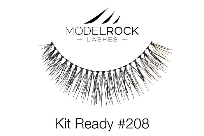 Model Rock Kit Ready Lashes #208