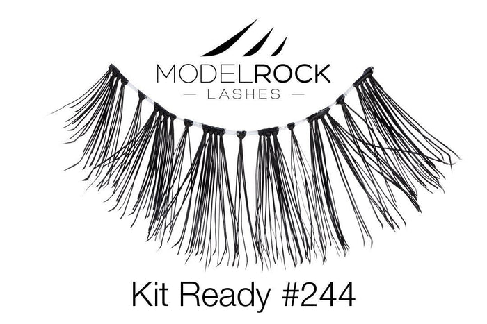 Model Rock Kit Ready Lashes #244