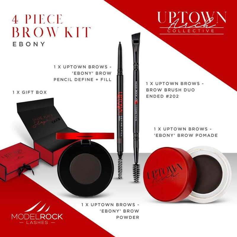Modelrock Uptown Arch Brow Kit