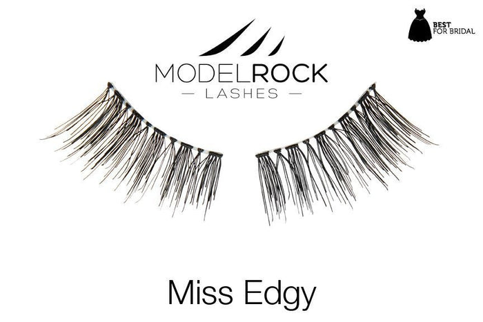 Model Rock Lashes - Miss Edgy Twin Pack