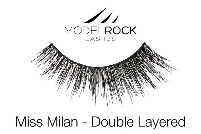 Model Rock Double Layered Lashes - Miss Milan