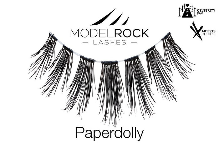 Model Rock Lashes - Paper Dolly
