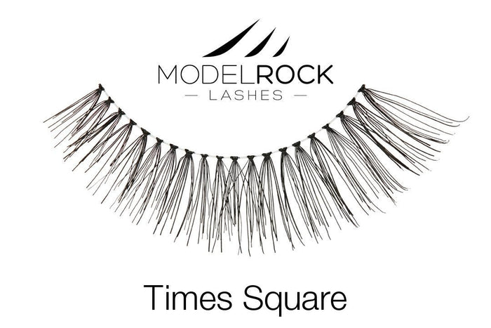 Model Rock Lashes NYC Collection - Times Square