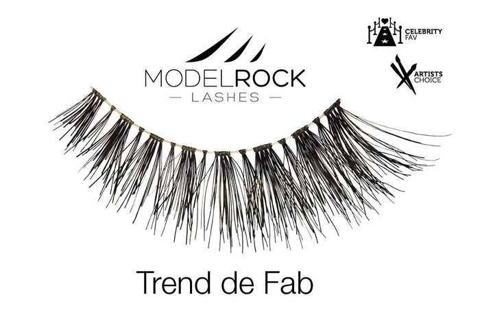 Model Rock Lashes NYC Collection - Trend-De-Fab