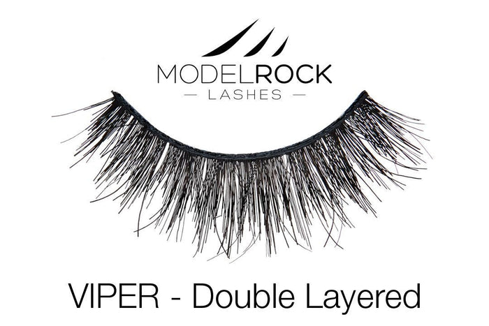 Model Rock Double Layered Lashes - Viper