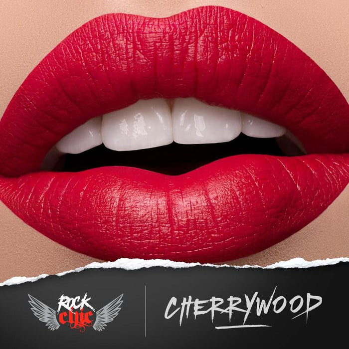 Modelrock ROCK CHIC Liquid Lips - CHERRYWOOD