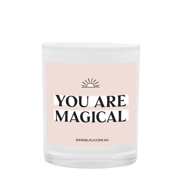 YOU'RE MAGICAL - Damselfly Large Candle