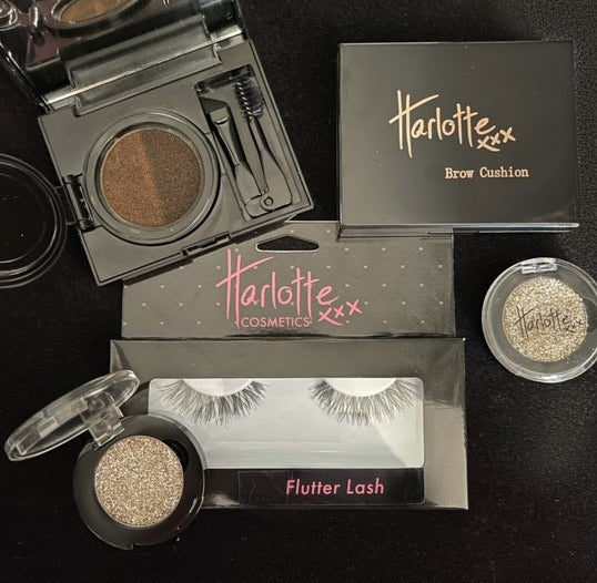 Harlotte Sparkle, Flutter and Brow Envy Christmas Pack