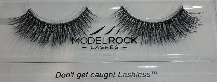 Model Rock Double Layered Lashes - Smokey Velvet Grandeur