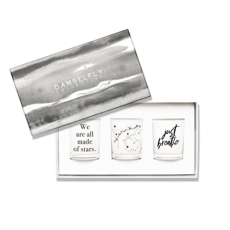 Just Breathe - Candle Trio Gift Set