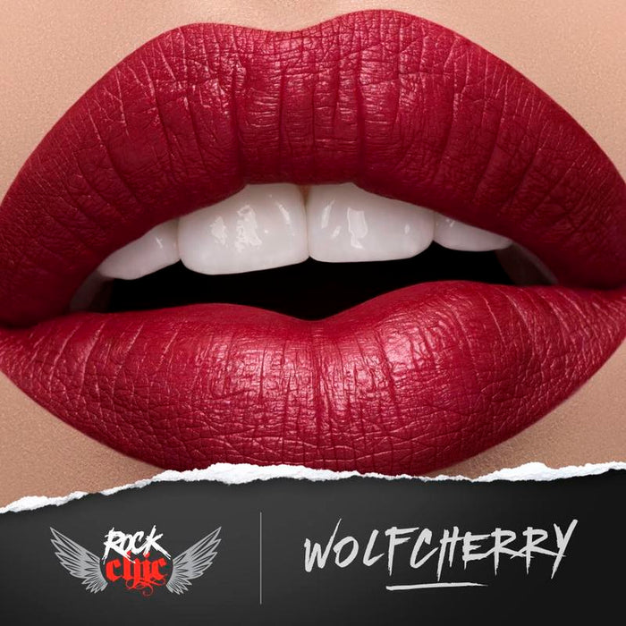 Modelrock ROCK CHIC Liquid Lips - WOLFCHERRY