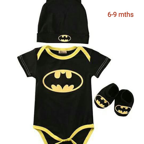 3 piece Batman Suit