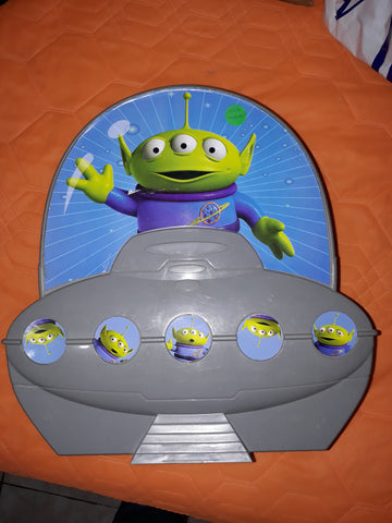 Alien Spaceship Box with game