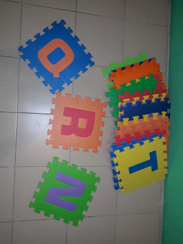 Foam Mat (19 pieces) Letters Only