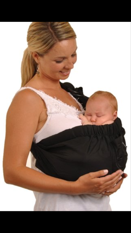 Baby Balboa Adjustable Black Sling
