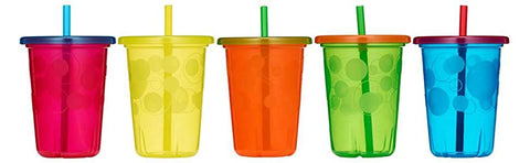 The First Years Take & Toss Spill-Proof Straw Cups 10oz, 1 Count