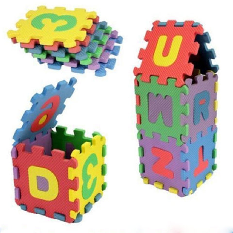 Mini Alphabet Foam Mat