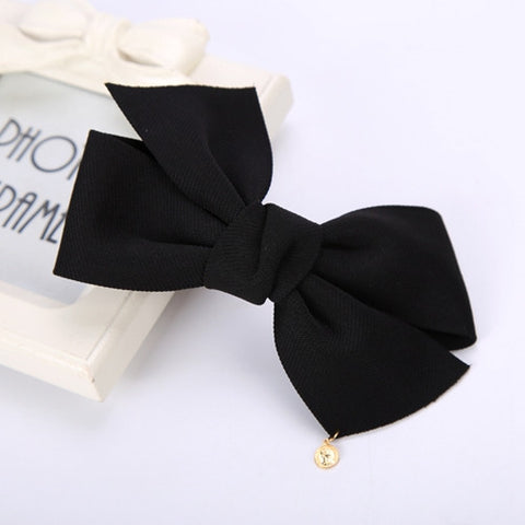 Cloth Bow Hair Clip