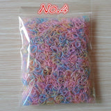 Colourful Rubber Bands (1000 pieces)