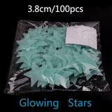 Stars / Moon Glow in the Dark Sticker (100 pieces)