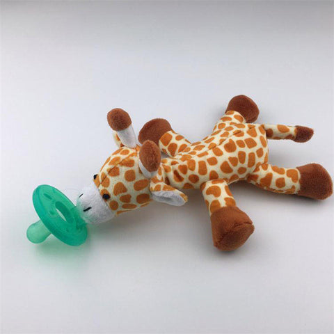 Pacifier With Plush Toy