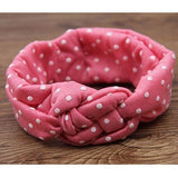 Kids Printing Knot Hairband