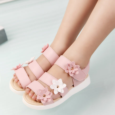 Summer Style Flower Girl Sandals