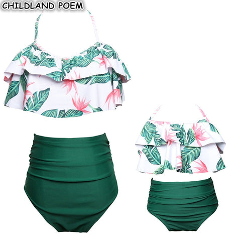 Mommy and Me Fashionable Swimwear