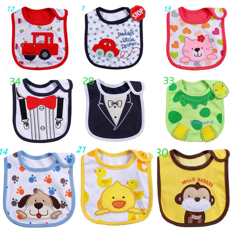 Variety Infant Waterproof Bibs
