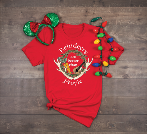 Reindeers > People Unisex Tee