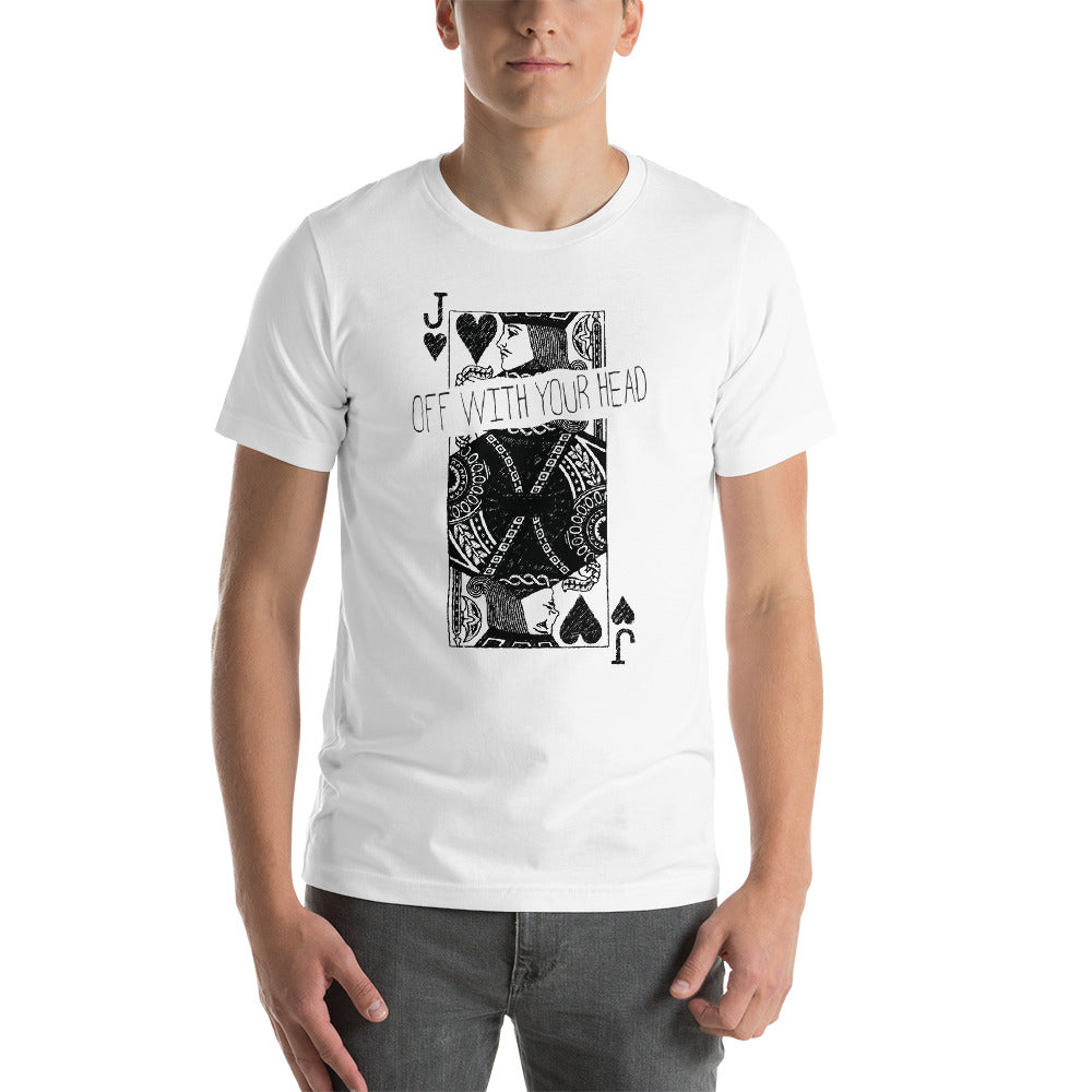 Heads Will Roll Tee (Wonderland)