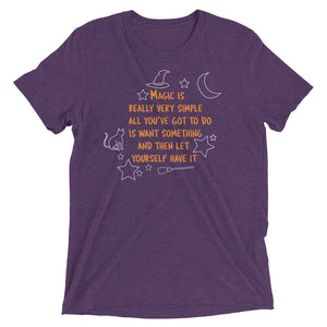 Halloweentown Tee (Purple)