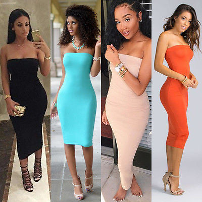 Halter Bandage Dress