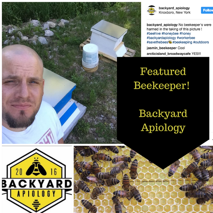 Backyard Apiology shares how he got started with Beekeeping
