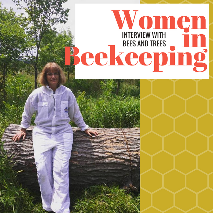 Interview with 'BeesandTrees' a woman in beekeeping