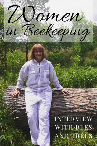 Women in beekeeping Interview with Bees and Trees