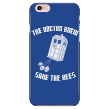 The Doctor Knew Save the Bees Phone Cases!