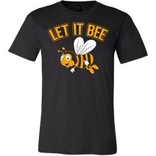 Let it Bee! Mens Canvas Apparel Help Save the Bees.