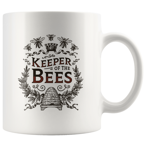 Keeper of the Bees Mugs