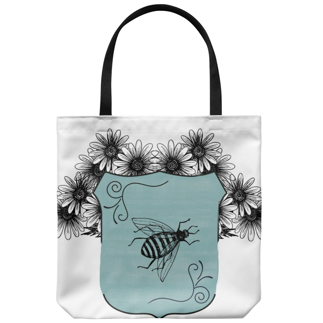 Keeper of Bees Tote Bags