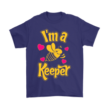 I'm a Keeper! Save the Bee American Mens Gildan Tee Shirt