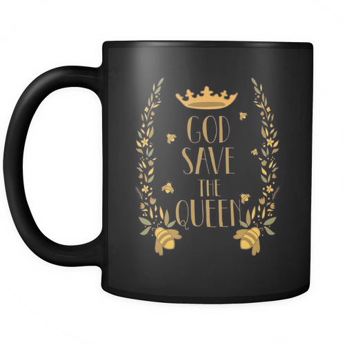 God Save the Queens Save the Bee Mugs